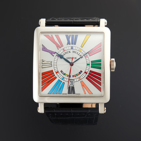 Franck Muller Master Square Color Dream Automatic // 6000 K SC DT // Pre-Owned