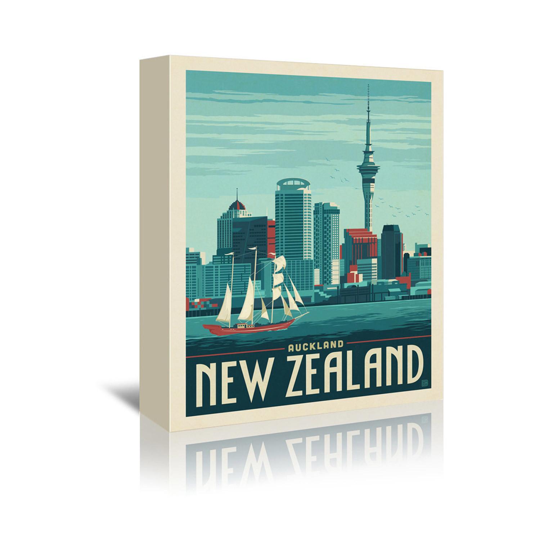 "New Zealand Auckland (5""W X 7""H X 1""D)"