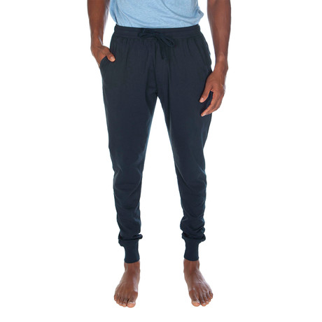 Super Soft Cuffed Jogger // Navy (S)