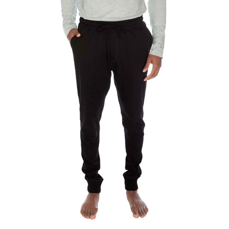 Super Soft Cuffed Jogger // Black (S)