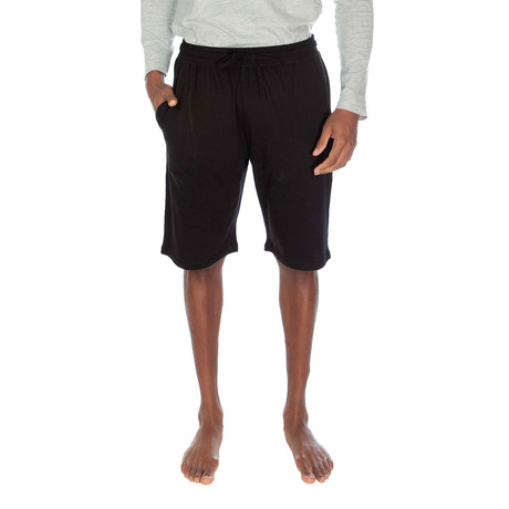Super Soft Lounge Short // Black (S)