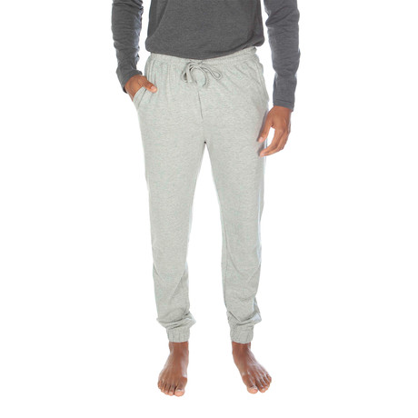 Super Soft Loose Knit Jogger // Light Gray Heather (S)