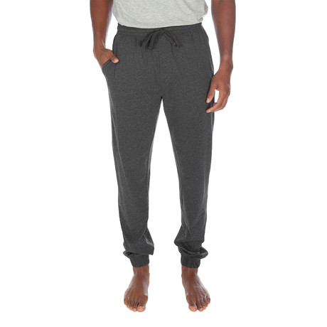 Super Soft Loose Knit Jogger // Dark Gray Heather (S)