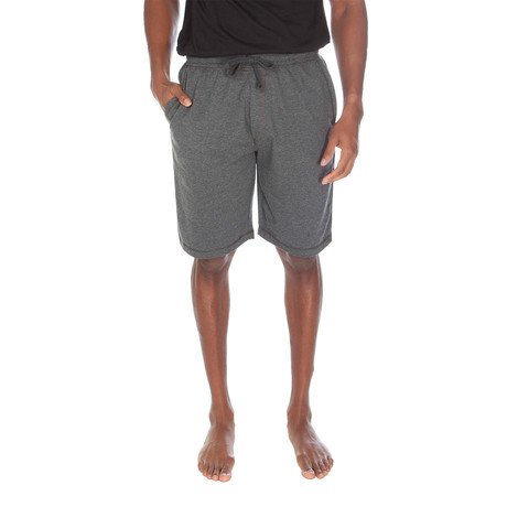 Super Soft Loose Knit Lounge Short // Dark Gray Heather (S)