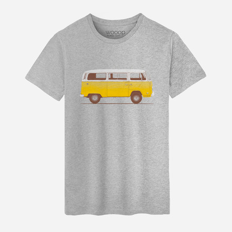 Combi T-Shirt // Grey (XL)