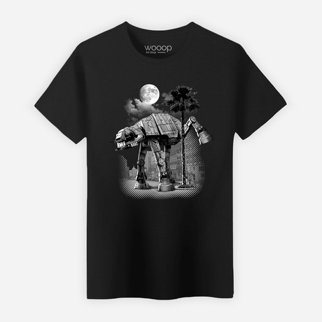 Ata Pee Time T-Shirt // Black (S)