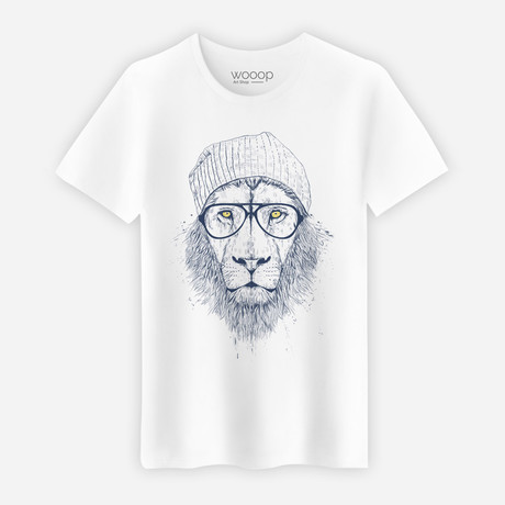 Cool Lion T-Shirt // White (S)