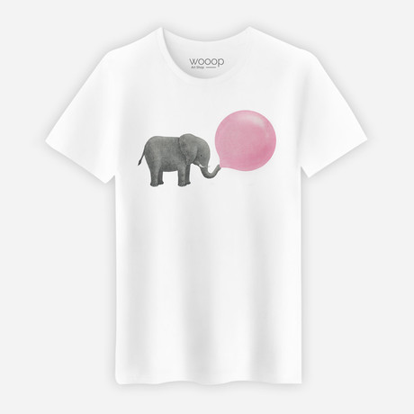 Jumbo Bubble Gum T-Shirt // White (S)