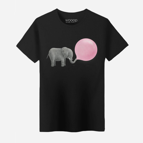 Elephant T-Shirt // Black (XL)