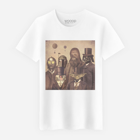 Victorian Wars T-Shirt // White (S)