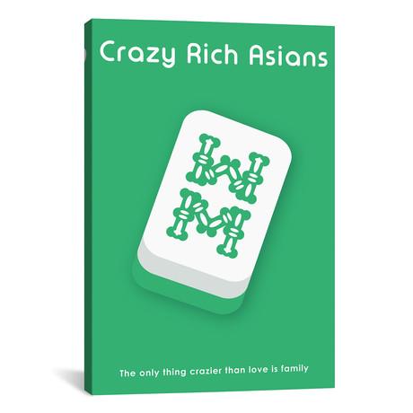 """Crazy Rich Asians // Minimalist Poster (18""""W x 26""""H x 0.75""""D)"""