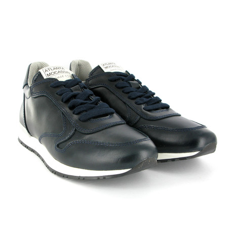 Reed Leather Runner Shoes // Navy (Euro: 42)