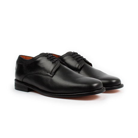 Plain-Toe Derby // Black (US: 6)