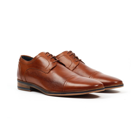 Jack's Andre // Cap Toe Dress Shoe // Tan (US: 6)