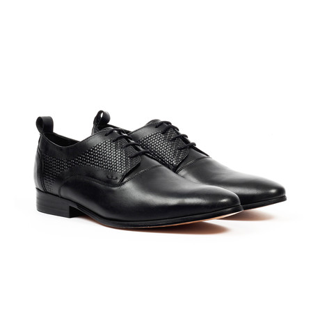Jack's Andre // Lace-up Derby Shoes // Black (US: 7)