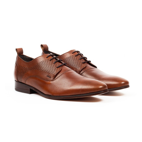 Jack's Andre // Lace-up Derby Shoes // Cognac (US: 7)