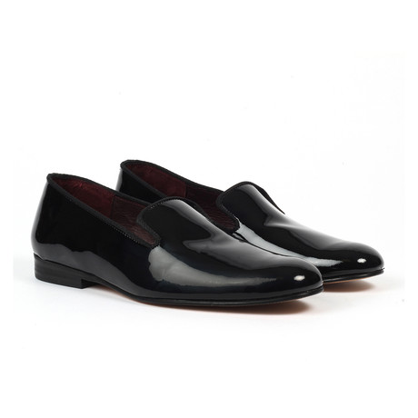 Jack's Andre // Slip-on Loafer // Black Patent (US: 7)