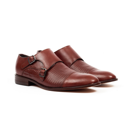 Jack's Andre // Monk Strap Shoes // Dark Brown (US: 7)
