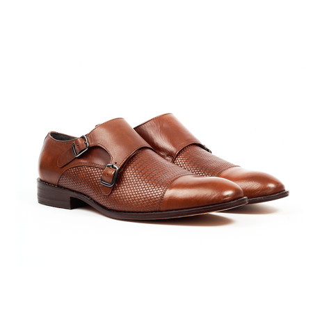 Jack's Andre // Monk Strap Shoes // Tan (US: 7)