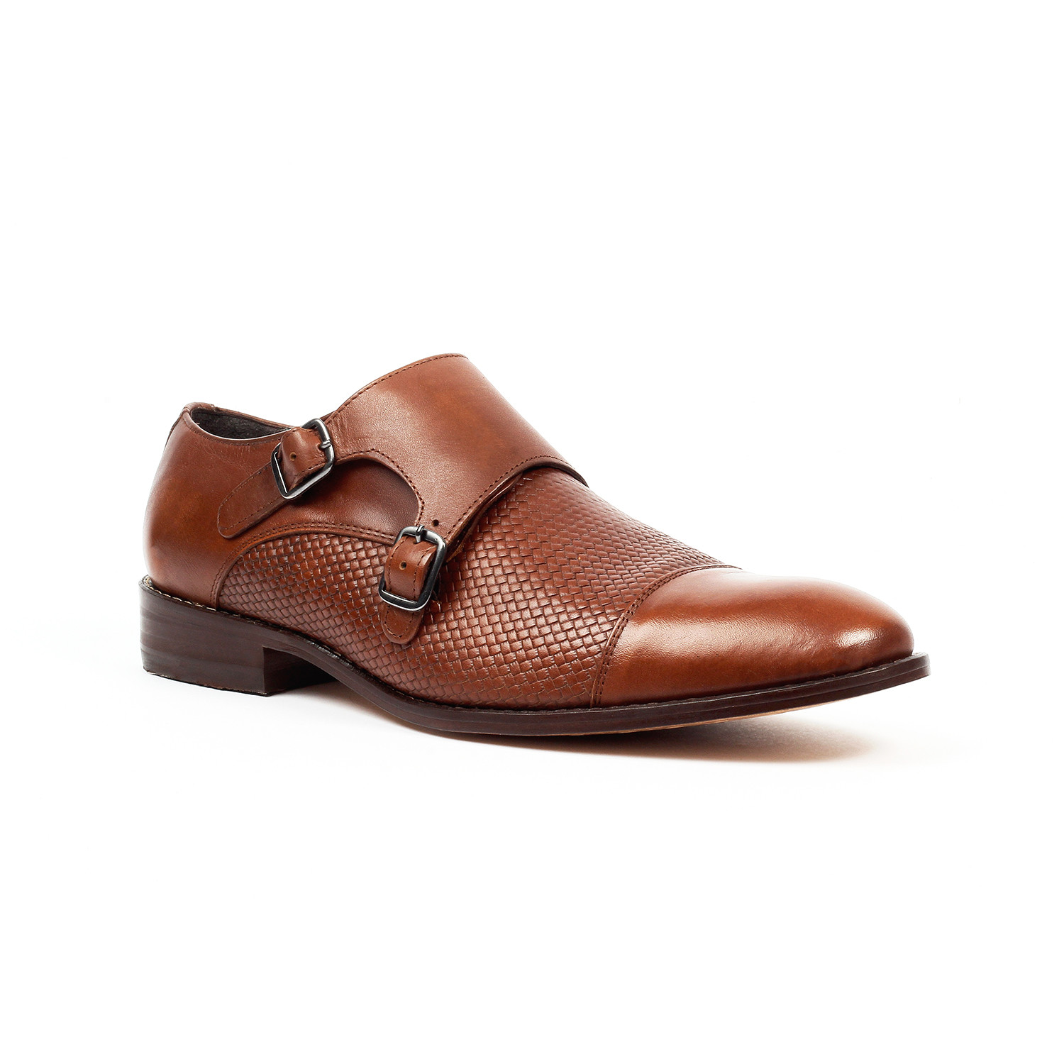 Jack's Andre // Monk Strap Shoes // Tan (US: 7.5