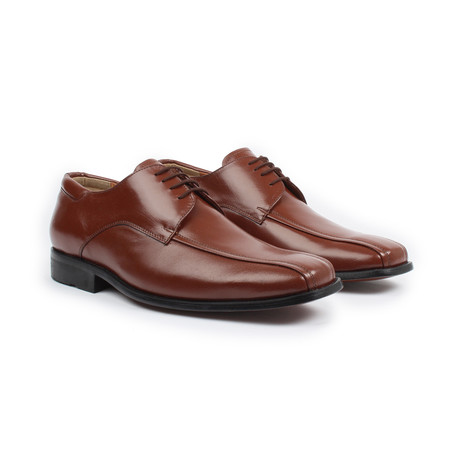 Jacks' Andre // Men's Lace-up Dress Shoe // Cognac (US: 7)