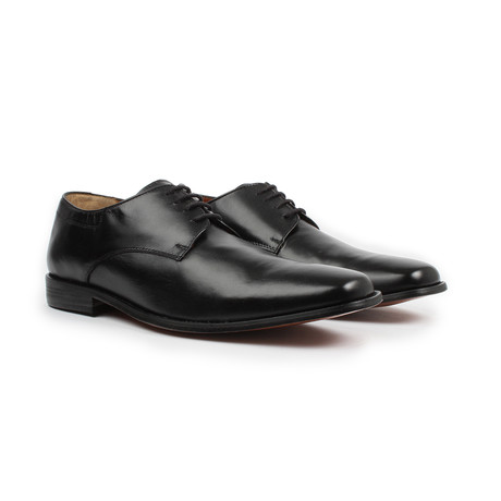 Jack's Andre // Plain Toe Lace-up Dress Shoe // Black (US: 7)