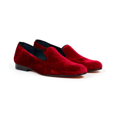 Jack's Andre // Slip-on Loafers // Burgundy (US: 7)