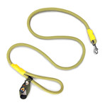 Recycled Climbing Rope Leash // 2-Pack (Green + Yellow, Blue + White)