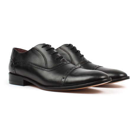 Jack's Andre // Lace-up Oxford Dress Shoes // Black (US: 7)