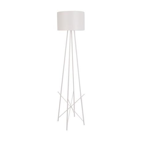 Sherman Floor Lamp (White)