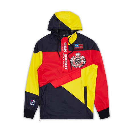 RSN Sport Pullover Jacket // Multi (S)