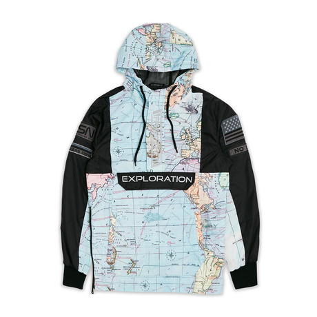Atlas Pullover Jacket // Multi (S)