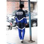 Parallax Track Jacket // Blue (S)