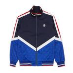 Parallax Track Jacket // Blue (L)