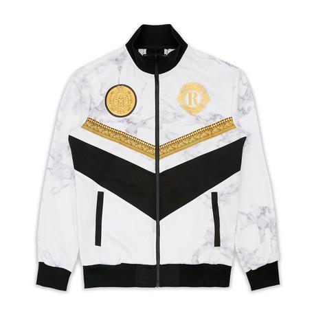 Marble Track Jacket // Multi (S)
