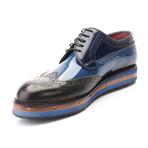 Prestone Wingtip Derby // Dark Blue (Euro: 40)
