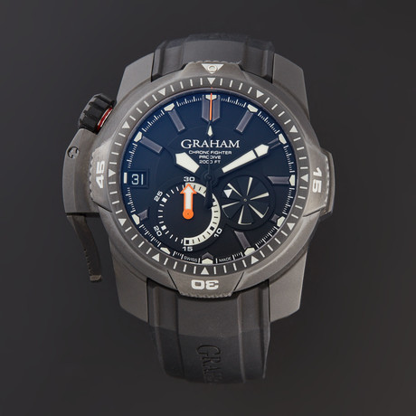 Graham Chronofighter Prodive Automatic // 2CDAB.B02A // Store Display