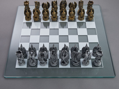 photo of Dragons Lair Chess Set by Touch Of Modern