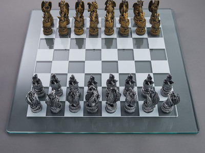 photo of Dragon Kingdom Chess Set by Touch Of Modern