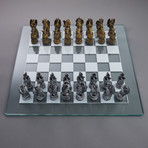 Dragon Kingdom Chess Set