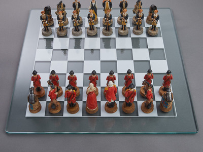 photo of American Revolution Chess Set by Touch Of Modern