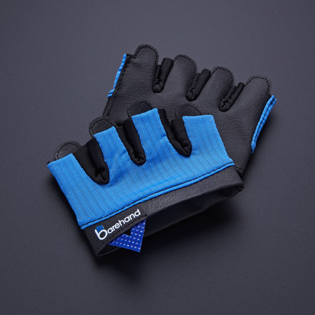Barehand Gloves // Blue (Extra Small)