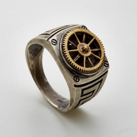 Inca Gear Face Ring (6)