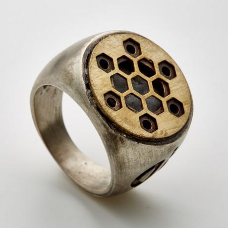 Hex Star Ring (6)