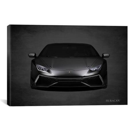 """Lamborghini Huracan // Mark Rogan (18""""W x 12""""H x 0.75""""D)"""