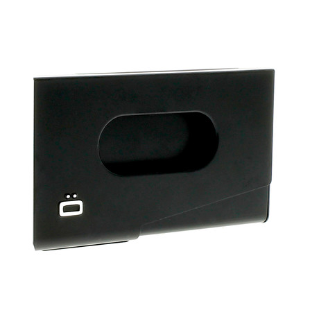 Ogon One Touch Business Card Holder (Black)