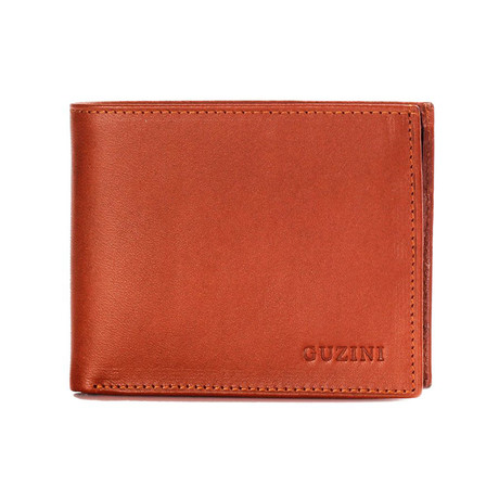 10-Card Coin-Zip Wallet (Tobacco)