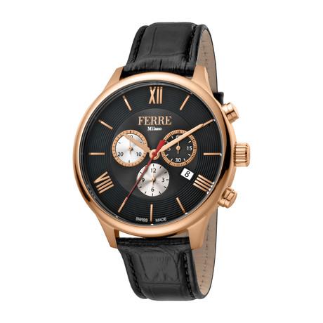 Ferre Milano Chronograph Swiss Quartz // FM1G144L0031