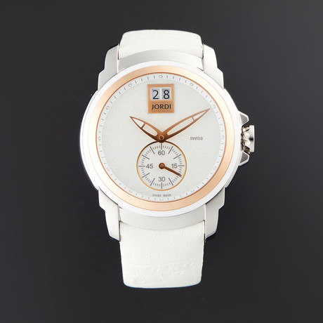 Michel Jordi Lady Icon White Glamour Quartz // SIL.401.16.004.02