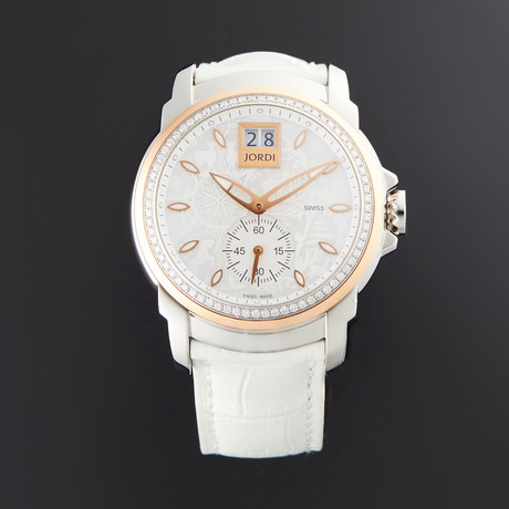 Michel Jordi Lady Icon White Glamour Quartz // SIL.401.17.006.03